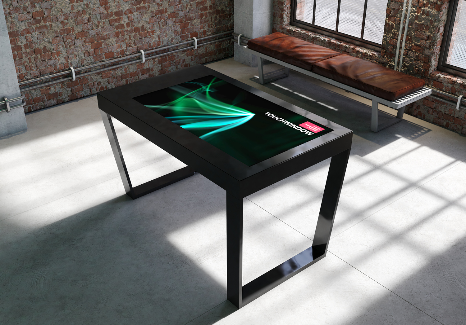 Touchwindow edge-table