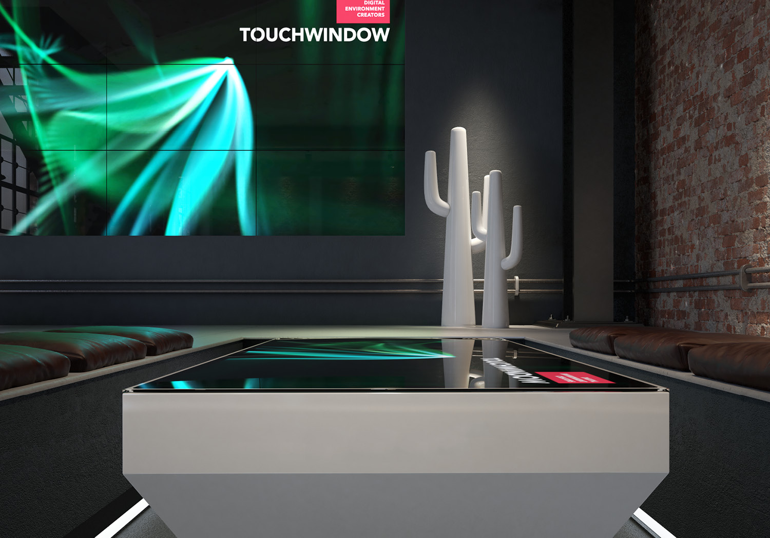 Touchwindow flat-table