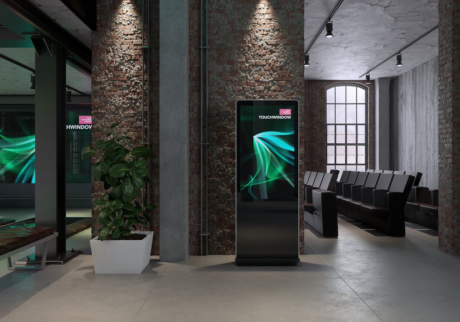 Touchwindow kiosk
