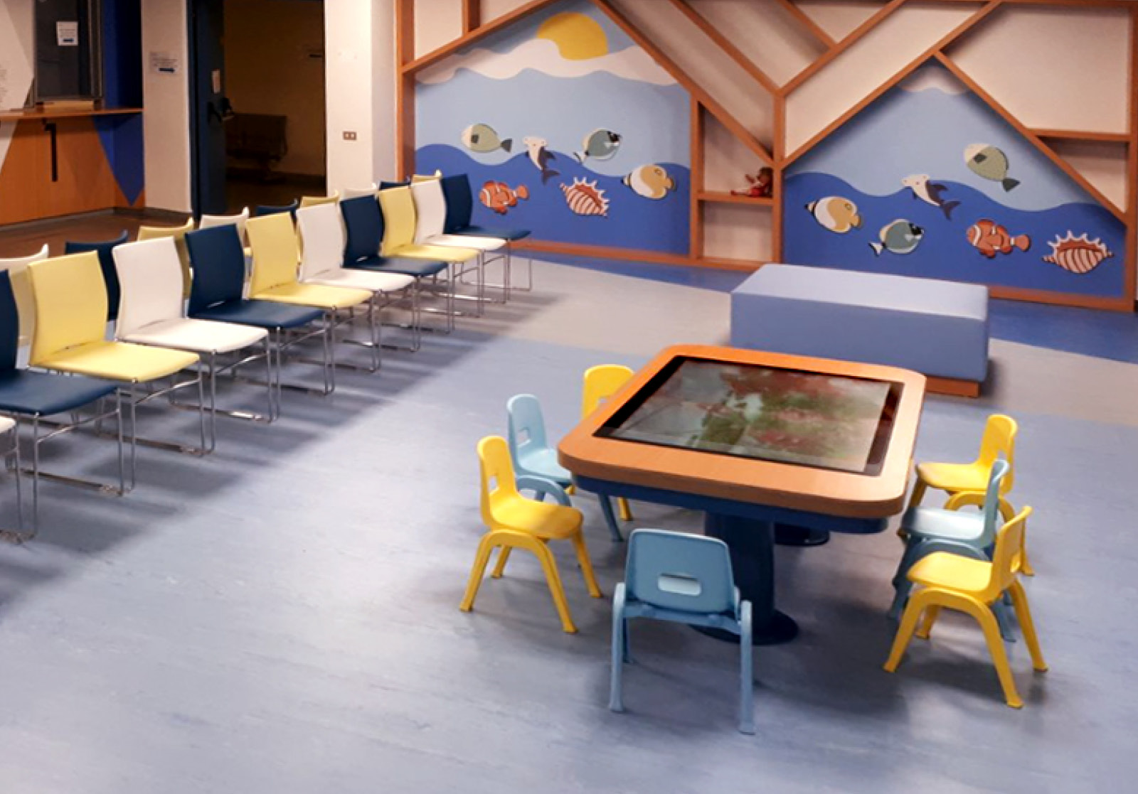 Touchwindow - A child-friendly environment