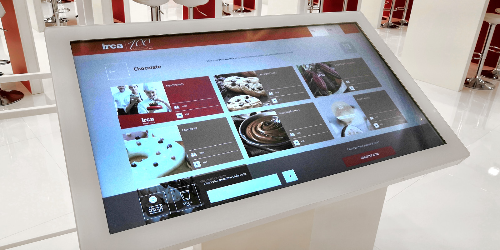 Touchwindow - Il gusto del Digital Engagement